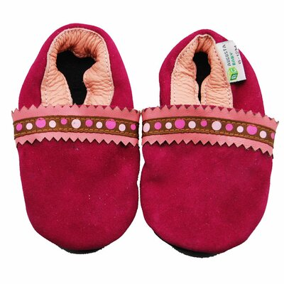 Suede Soft Sole Leather Baby Shoes
