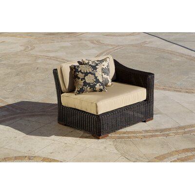 RST Outdoor Resort Left Facing Sectional Piece with Cushions