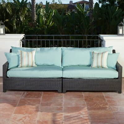 Rst Brands Outdoor Deco Sofa With Cushion Covers Amp Reviews