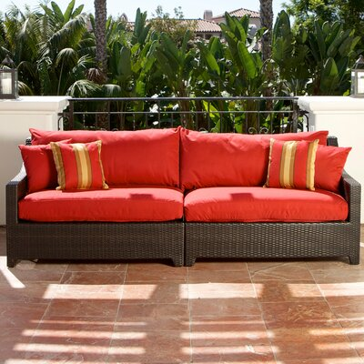 RST Outdoor Cantina Patio Sofa with Cushion