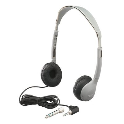 Hamilton Electronics Multimedia Personal Educational Headphone with Leatherette Ear Cushion