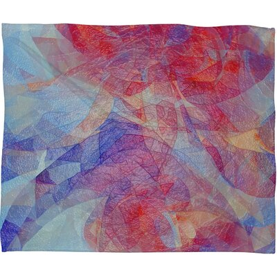 DENY Designs Jacqueline Maldonado Sweet Rift Fleece Throw Blanket