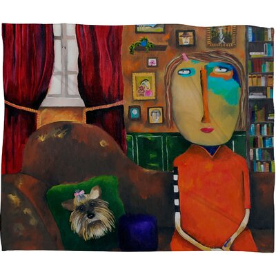 DENY Designs Robin Faye Gates with Bebe Fleece Throw Blanket