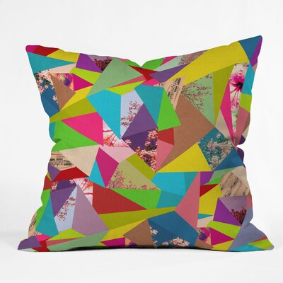 DENY Designs Bianca Green Colorful Thoughts Indoor/Outdoor Polyester Throw Pillow