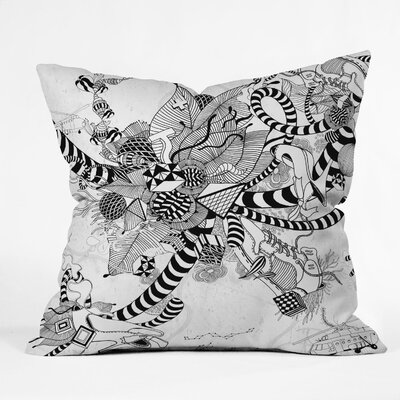 DENY Designs Iveta Abolina Play Woven Polyester Throw Pillow
