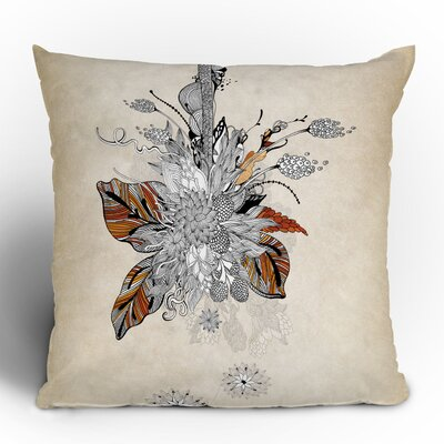 DENY Designs Iveta Abolina Floral 2 Woven Polyester Throw Pillow