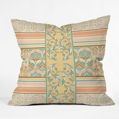 DENY Designs Jacqueline Maldonado Vintage Stripe Polyester Throw Pillow
