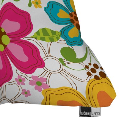 DENY Designs Khristian A Howell Kaui Blooms Indoor/Outdoor Polyester Throw Pillow