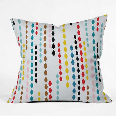 DENY Designs Khristian A Howell Nolita Drops Indoor / Outdoor Polyester Throw Pillow