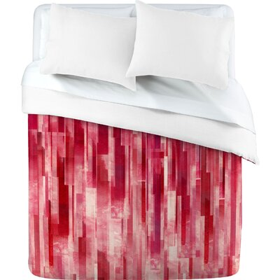 DENY Designs Jacqueline Maldonado Red Rain Duvet Cover Collection