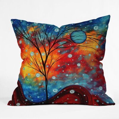 DENY Designs Madart Inc  Polyester Summer Snow Indoor/Outdoor Throw Pillow
