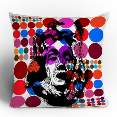 DENY Designs Randi Antonsen Poster Heroins 6 Polyester Throw Pillow