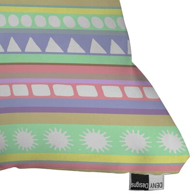 DENY Designs Romi Vega Polyester Pastel Pattern Indoor/Outdoor Throw Pillow