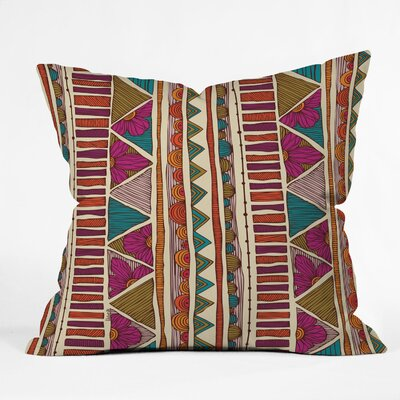 DENY Designs Valentina Ramos Ethnic Stripes Throw Pillow