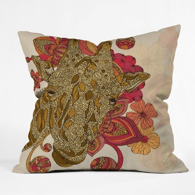DENY Designs Valentina Ramos The Giraffe Indoor/Outdoor Polyester Throw Pillow
