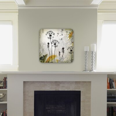 DENY Designs Iveta Abolina Little Dandelion Wall Art