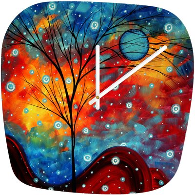 DENY Designs Madart Inc. Summer Snow Clock