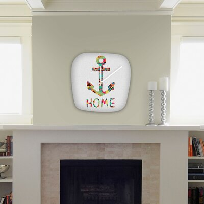 DENY Designs Bianca Green You Make Me Home Modern Clock