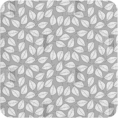 DENY Designs Bianca Green Leafy Wall Art