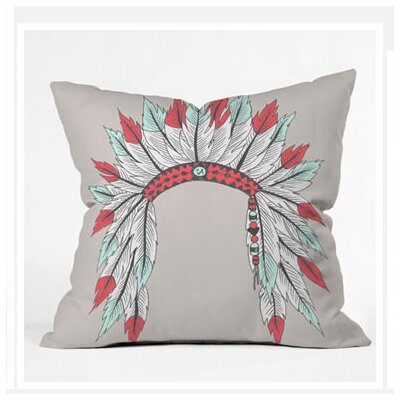 DENY Designs Wesley Bird Dressy Throw Pillow