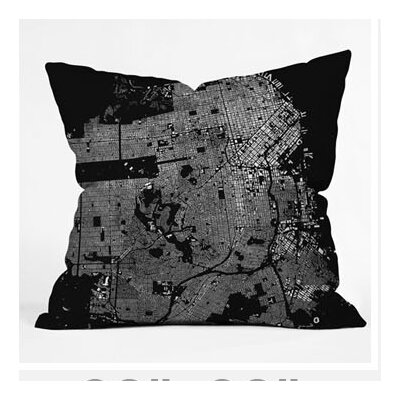 DENY Designs CityFabric Inc San Francisco Throw Pillow