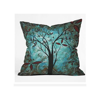 DENY Designs Madart Inc. Romantic Evening Woven Polyester Throw Pillow