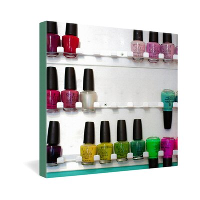 DENY Designs Bird Wanna Whistle Nail Polish Gallery Wrapped Canvas