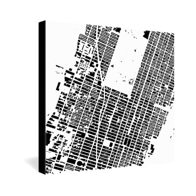 DENY Designs CityFabric Inc NYC Midtown Gallery Wrapped Canvas