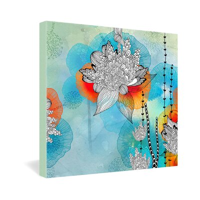 DENY Designs Iveta Abolina Coral Gallery Wrapped Canvas