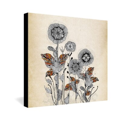 DENY Designs Iveta Abolina Floral 3 Gallery Wrapped Canvas