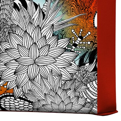 DENY Designs Iveta Abolina Wild Lilly Gallery Wrapped Canvas