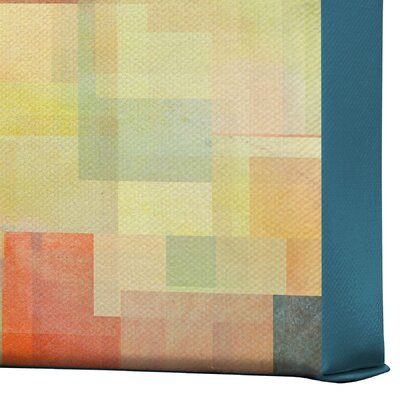 DENY Designs Jacqueline Maldonado Cubism Dream Gallery Wrapped Canvas