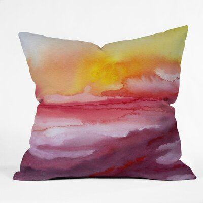 DENY Designs Jacqueline Maldonado Rise Indoor / Outdoor Polyester Throw Pillow