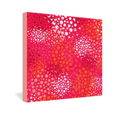 DENY Designs Khristian A Howell Brady Dots 2 Gallery Wrapped Canvas