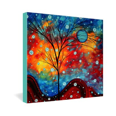 DENY Designs Madart Inc  Summer Snow Gallery Wrapped Canvas