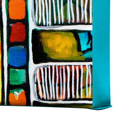 DENY Designs Robin Faye Gates Musical Chairs Gallery Wrapped Canvas