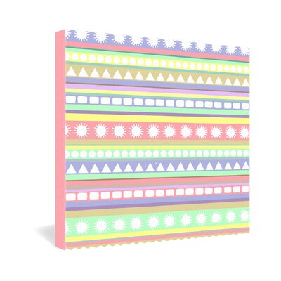 DENY Designs Romi Vega Pastel Pattern Gallery Wrapped Canvas
