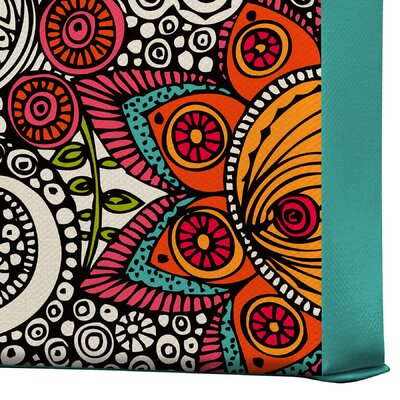 DENY Designs Valentina Ramos Random Flowers Gallery Wrapped Canvas