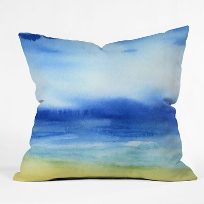DENY Designs Jacqueline Maldonado Sea Church Indoor / Outdoor Polyester Throw Pillow