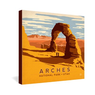 DENY Designs Anderson Design Group Arches Gallery Wrapped Canvas