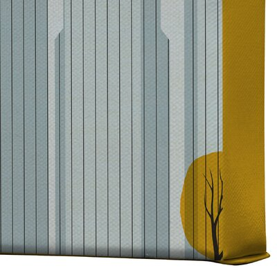 DENY Designs Anderson Design Group Central Park Snow Gallery Wrapped Canvas