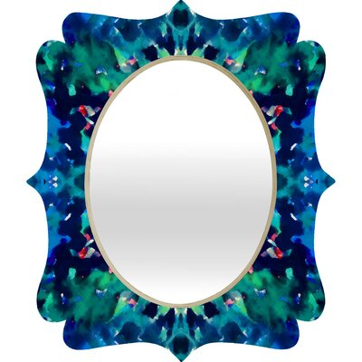 DENY Designs Amy Sia Water Dream Quatrefoil Mirror