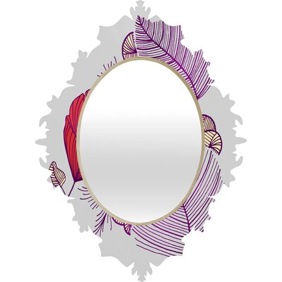 DENY Designs Gabi Sea Leaves Baroque Mirror