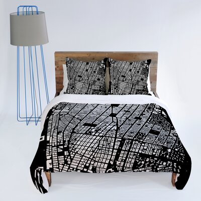 DENY Designs CityFabric Inc NYC Duvet Cover Collection