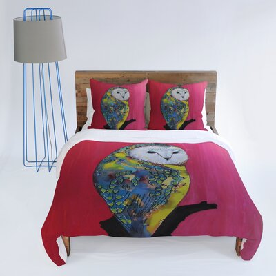 DENY Designs Clara Nilles Owl On Lipstick Duvet Cover Collection