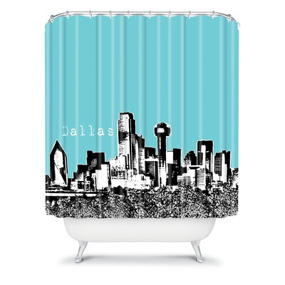 DENY Designs Bird Ave Woven Polyester Dallas Shower Curtain
