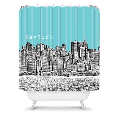 DENY Designs Bird Ave Woven Polyester New York Shower Curtain
