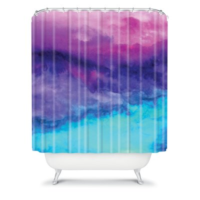 DENY Designs Jacqueline Maldonado Woven Polyester the Sound Shower Curtain