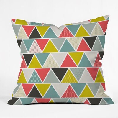 DENY Designs Heather Dutton Triangulum Throw Pillow