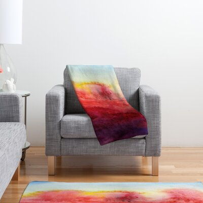 DENY Designs Jacqueline Maldonado Where I End Polyester Fleece Throw Blanket